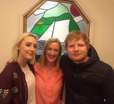 Ed Sheerans Selfie w the Galway girls